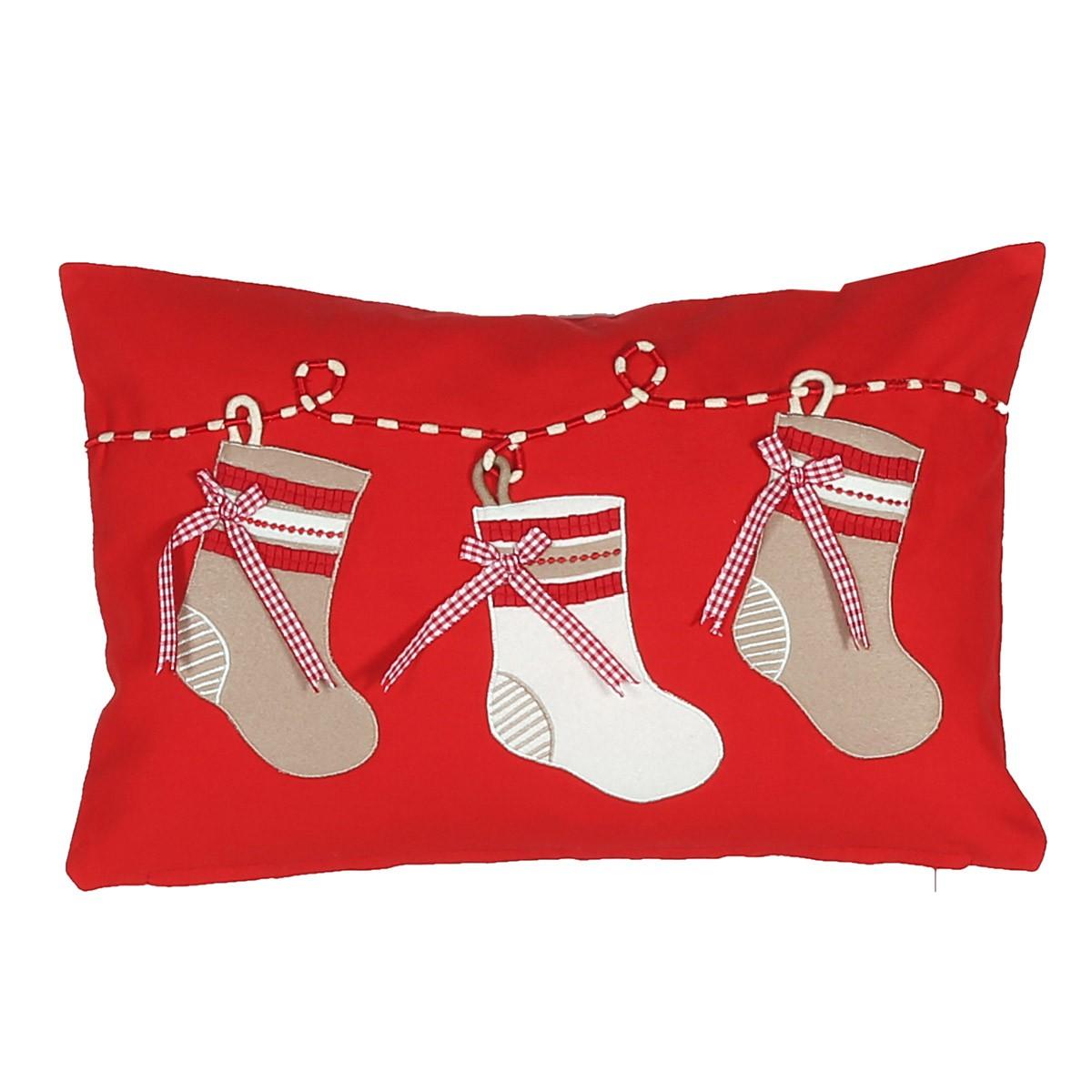 Χριστουγεννιάτικο Μαξιλάρι Nef-Nef Boot home   χριστουγεννιάτικα   χριστουγεννιάτικα μαξιλάρια