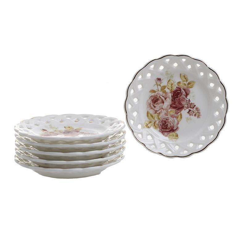 Πιάτα Γλυκού (Σετ 6τμχ) InArt 3-60-802-0048