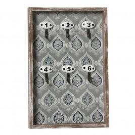 Κλειδοθήκη Τοίχου Espiel NIK205