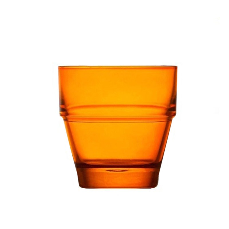 Ποτήρια Κρασιού (Σετ 6τμχ) Espiel Impilabile Orange STE133
