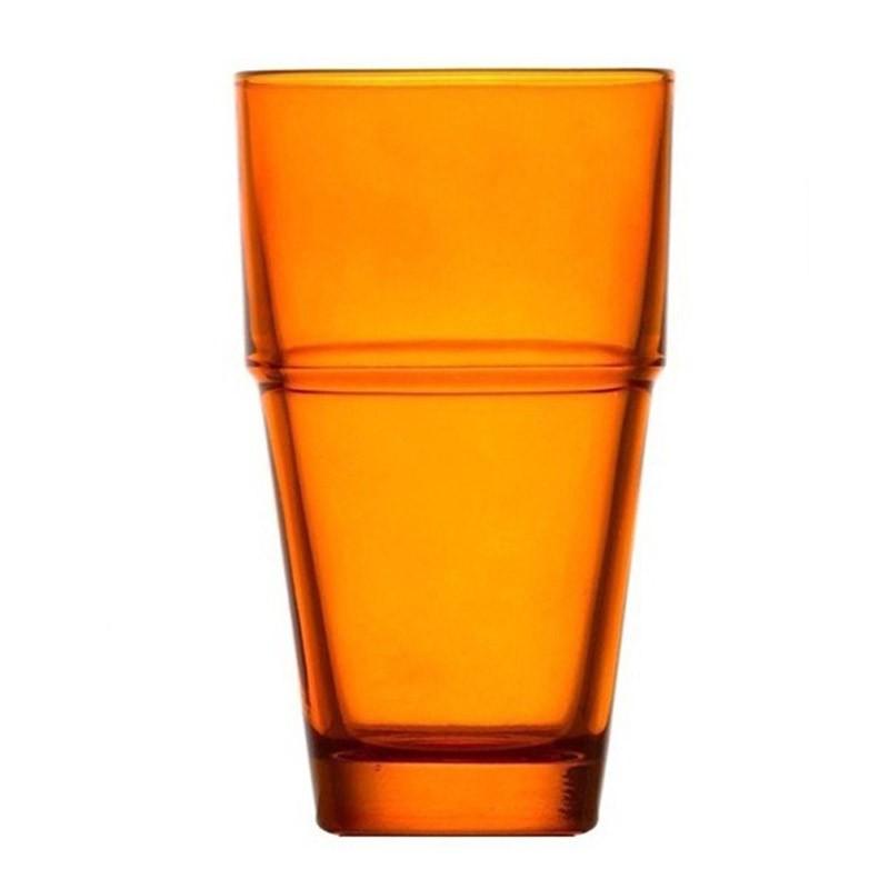 Ποτήρια Νερού (Σετ 6τμχ) Espiel Impilabile Orange STE129 home   κουζίνα   τραπεζαρία   ποτήρια