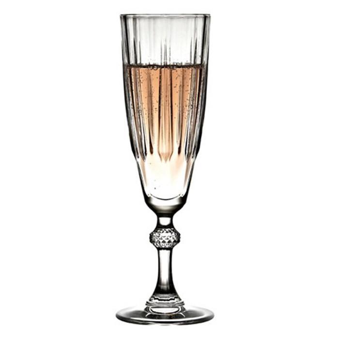 Ποτήρια Σαμπάνιας (Σετ 6τμχ) Espiel Diamond CAM1024