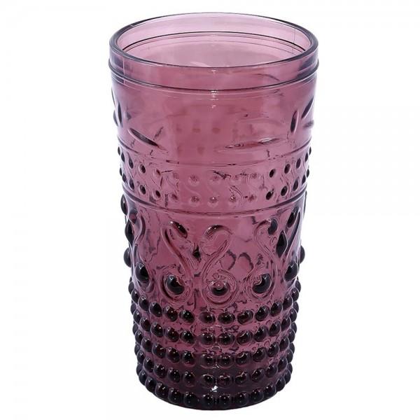 Ποτήρια Κοκτέιλ (Σετ 6τμχ) Espiel Embossed Purple HOC1010