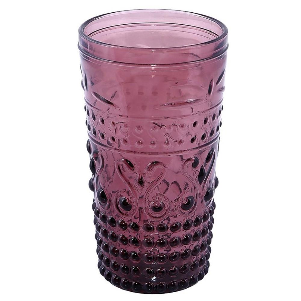 Ποτήρια Νερού (Σετ 6τμχ) Espiel Embossed Purple HOC1010
