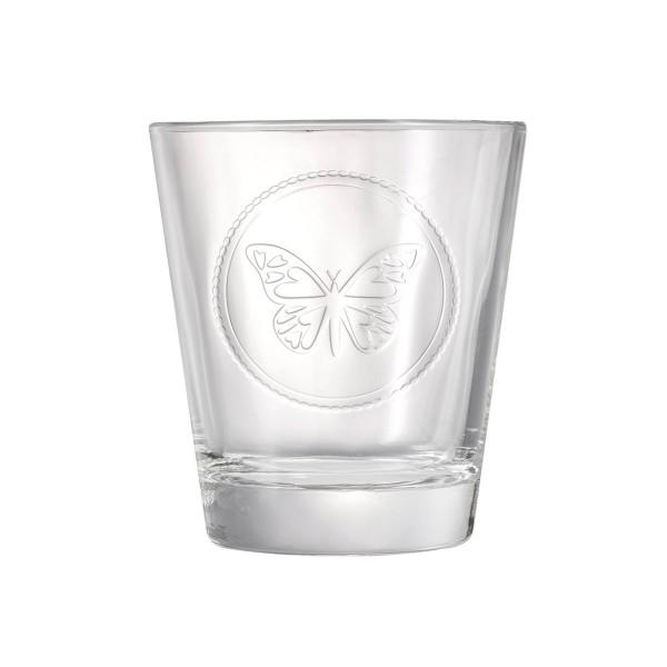 Ποτήρια Ουίσκι (Σετ 6τμχ) Espiel Butterfly STE4030N