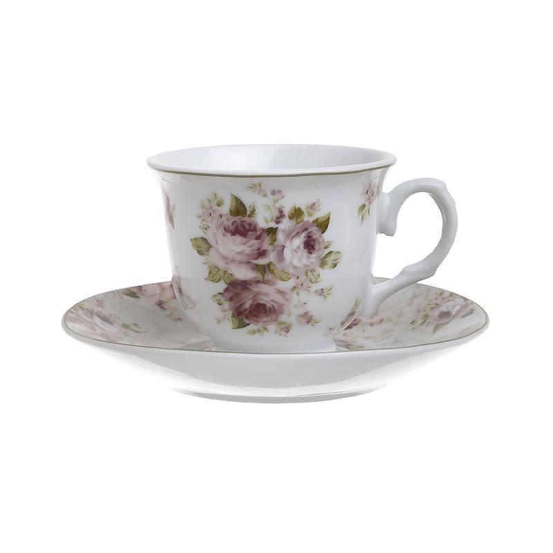 Φλυτζάνια Καφέ + Πιατάκια (Σετ 6τμχ) InArt 3-60-518-0020