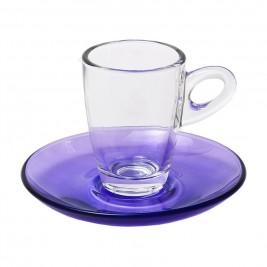Φλυτζάνια Καφέ + Πιατάκια (Σετ 6τμχ) Espiel Espresso STE118400P