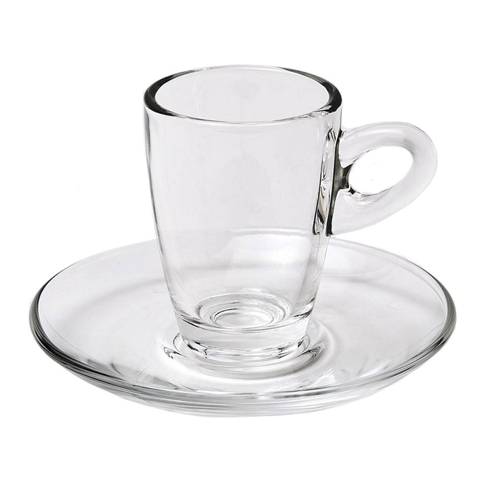 Φλυτζάνια Καφέ + Πιατάκια (Σετ 6τμχ) Espiel Mocca STE118400
