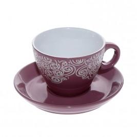 Φλυτζάνι Καφέ + Πιατάκι Espiel Bordeaux Large HUN122K6