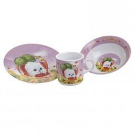 Παιδικό Σετ Φαγητού 3τμχ InArt 3-60-910-0005