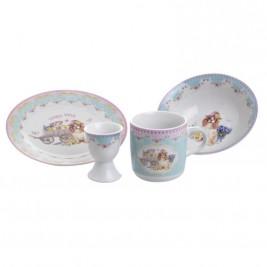 Παιδικό Σετ Φαγητού 4τμχ InArt 3-60-910-0007