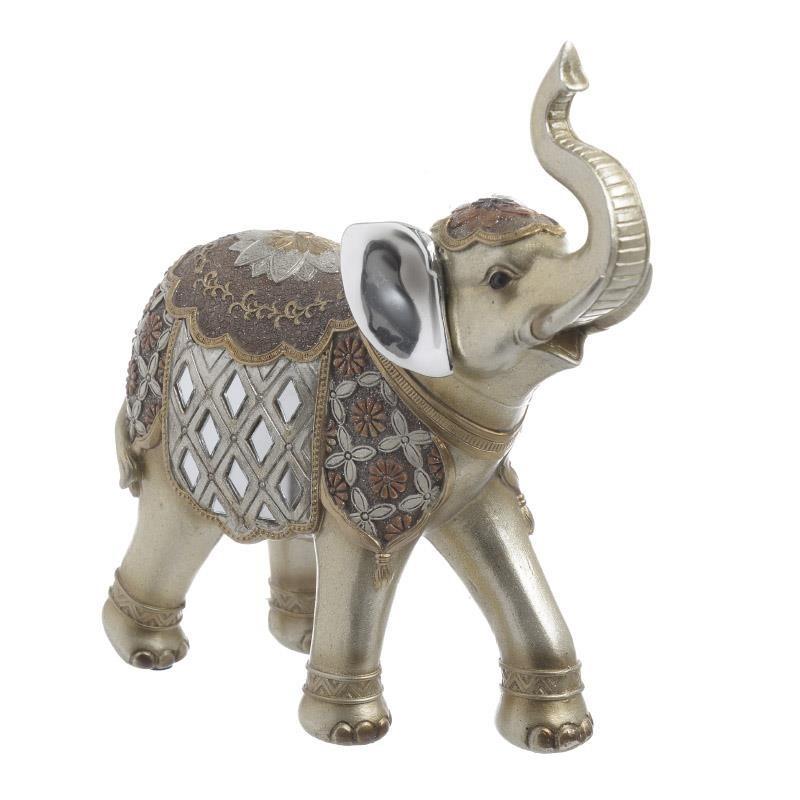 Διακοσμητικό Χώρου InArt Elephant Gold 3-70-547-0519