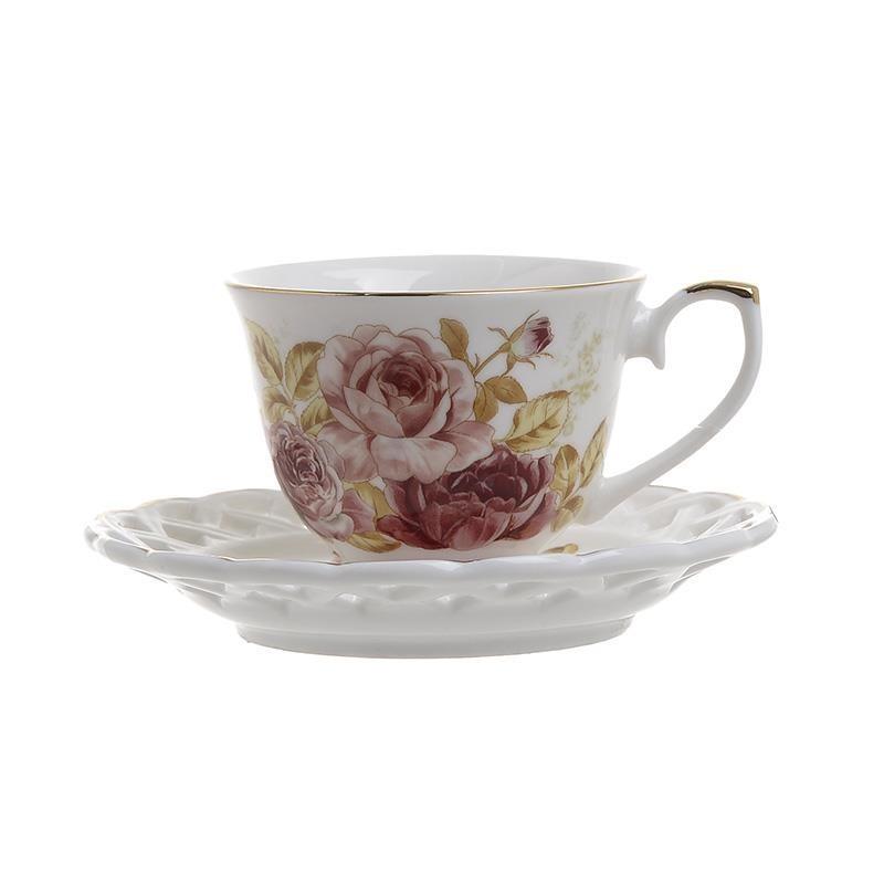 Φλυτζάνια Καφέ + Πιατάκια (Σετ 6τμχ) InArt 3-60-802-0041