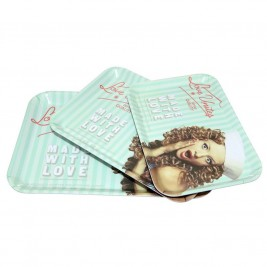 Δίσκοι Σερβιρίσματος (Σετ 3τμχ) Espiel Love Unites KOS116