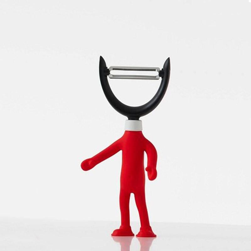 Εργαλείο Ξεφλουδίσματος Espiel Κόκκινο HC103 home   κουζίνα   τραπεζαρία   εργαλεία κουζίνας