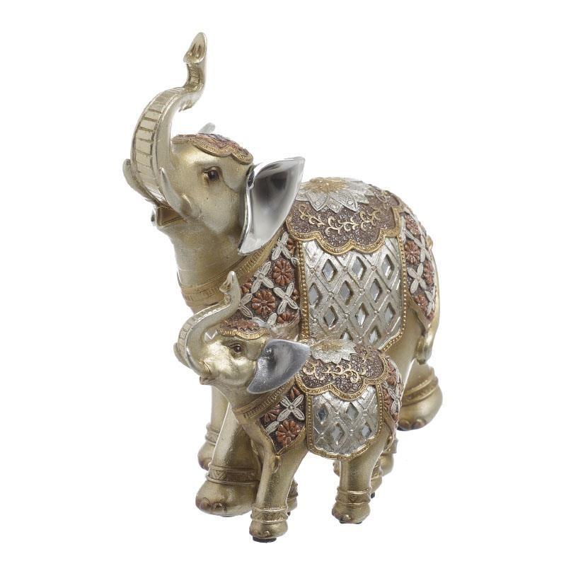 Διακοσμητικό Χώρου InArt Elephants Gold 3-70-547-0522