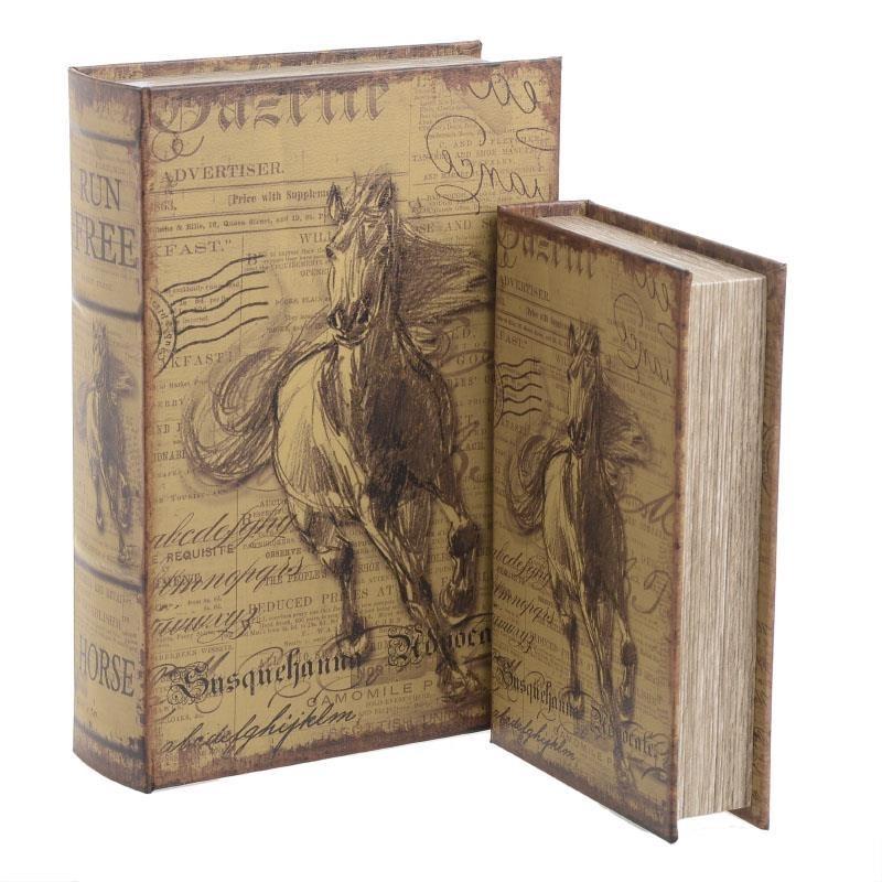 Κουτιά/Βιβλία (Σετ 2τμχ) InArt 3-70-435-0240