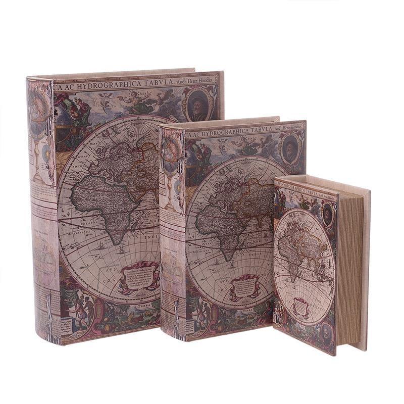 Κουτιά/Βιβλία (Σετ 3τμχ) InArt 3-70-939-0080
