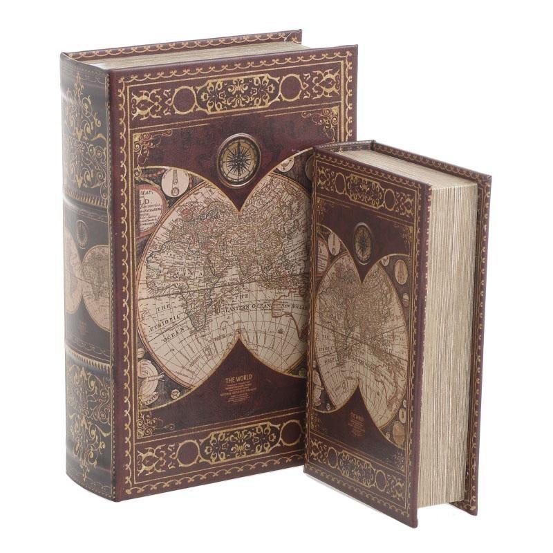 Κουτιά/Βιβλία (Σετ 2τμχ) InArt 3-70-435-0239