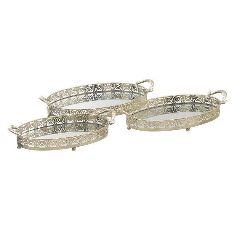 Δίσκοι Σερβιρίσματος (Σετ 3τμχ) InArt 3-70-961-0005