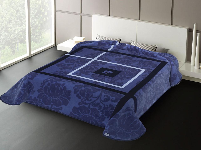 Κουβέρτα Βελουτέ Υπέρδιπλη Pierre Cardin Nancy 261 Blue
