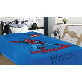 Κουβέρτα Βελουτέ Μονή Belpla Ster Spiderman