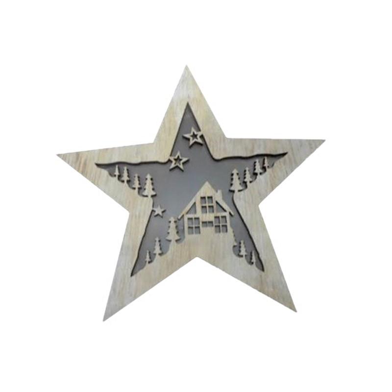 Χριστουγεννιάτικο Αστέρι Με Φωτισμό Espiel XMA227K4