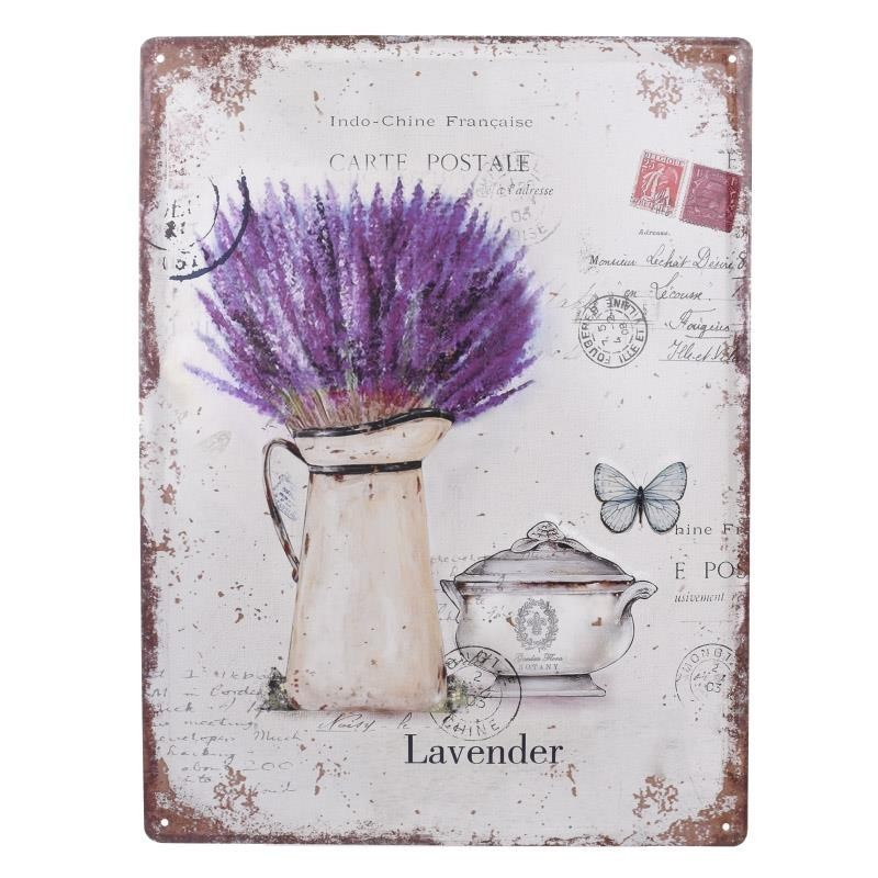 Διακοσμητική Ταμπέλα InArt Lavender 3-70-773-0084