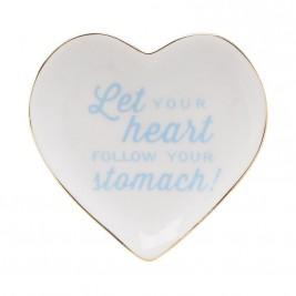 Διακοσμητικό Πιατάκι InArt Heart 3-70-146-0323