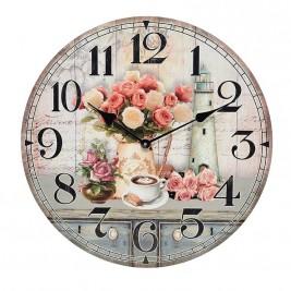 Ρολόι Τοίχου InArt 3-20-098-0178