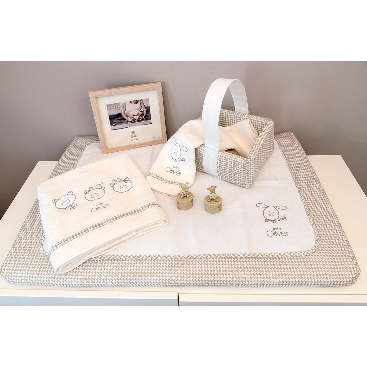 Κάλυμμα Αλλαξιέρας Baby Oliver Mr.Wolf & Co 305 home   βρεφικά   αλλαξιέρες βρεφικές