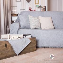 Ριχτάρι Τριθέσιου (180x300) Lorenzo Santaniello Plain Grey