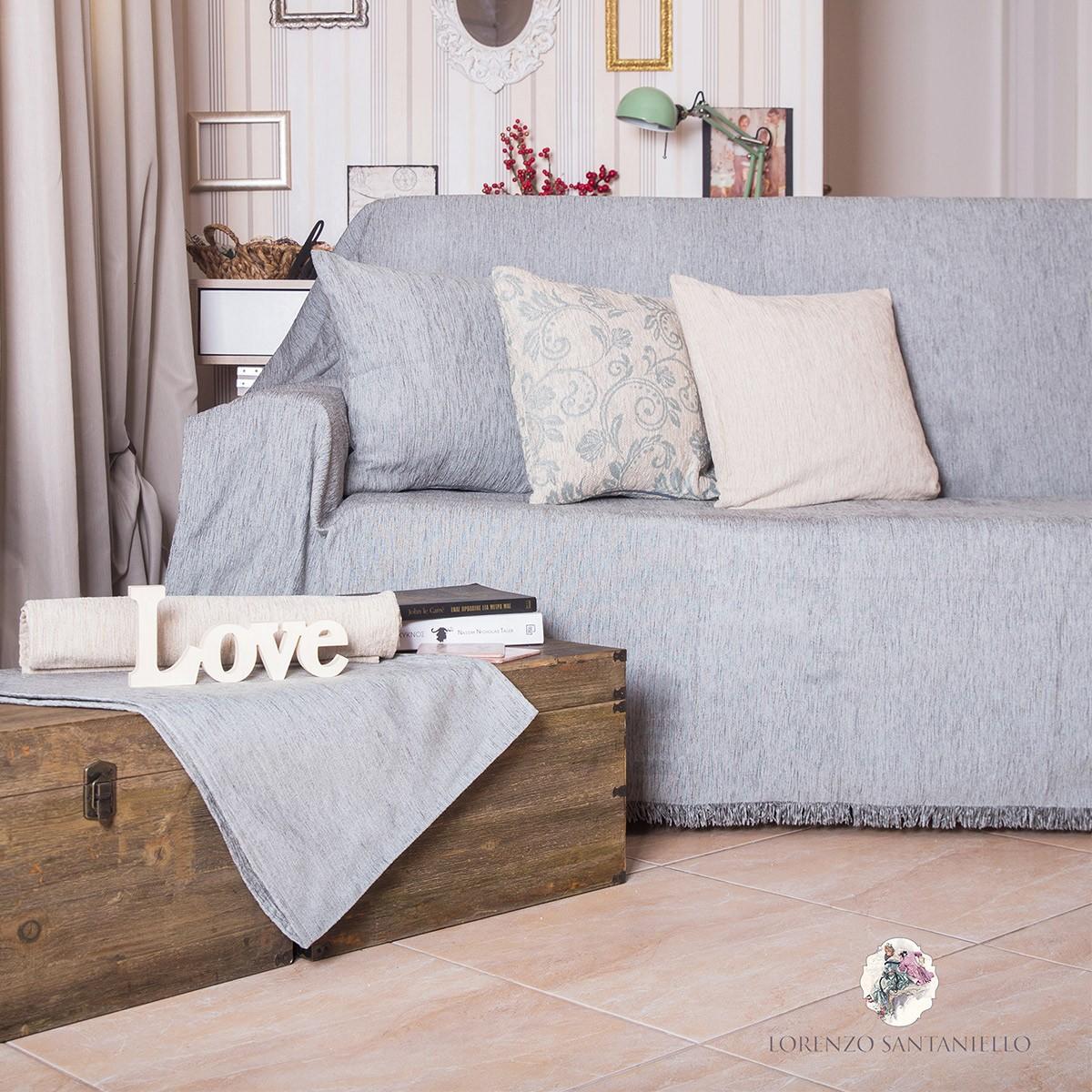 Ριχτάρι Τετραθέσιου (180x350) Lorenzo Santaniello Plain Grey