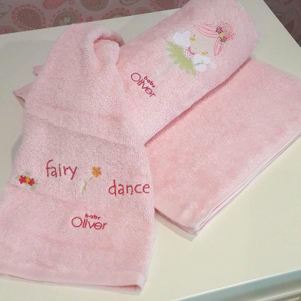 Βρεφικές Πετσέτες (Σετ 2τμχ) Baby Oliver Fairy Dance 307