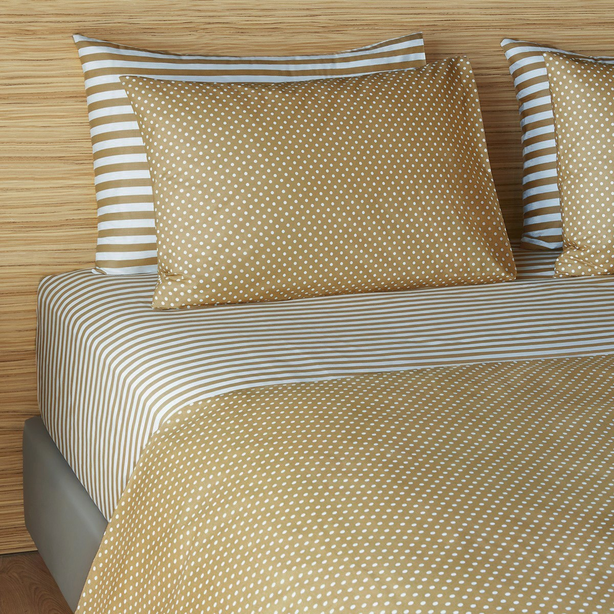 Σεντόνια Υπέρδιπλα (Σετ 240×260) Melinen Ultra 12532 Golden