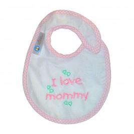 Σαλιάρα Μικρή Κόσμος Του Μωρού 0606 Mommy Ροζ