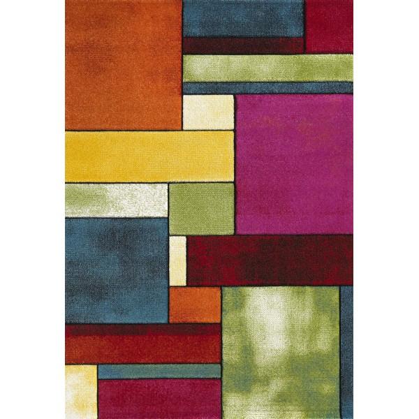 Χαλί (65x150) Viopros Μόντερν Πολύχρωμο