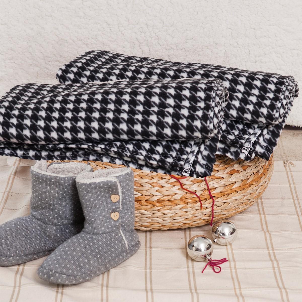 Κουβέρτα Fleece Υπέρδιπλη Melinen Piet De Poul home   κρεβατοκάμαρα   κουβέρτες   κουβέρτες fleece υπέρδιπλες