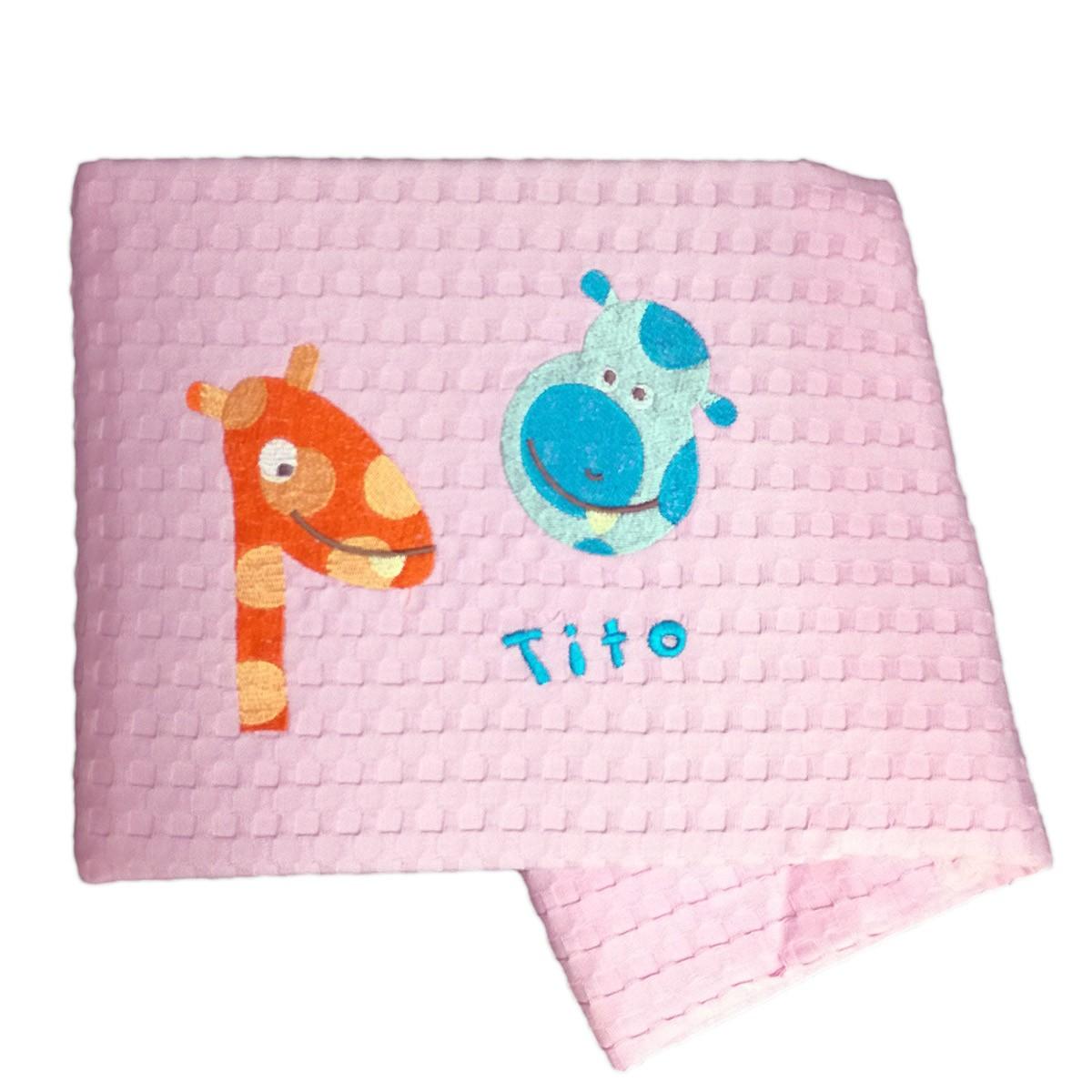 Κουβέρτα Πικέ Κούνιας Nima Juniors Tito 01 home   βρεφικά   κουβέρτες βρεφικές   κουβέρτες καλοκαιρινές