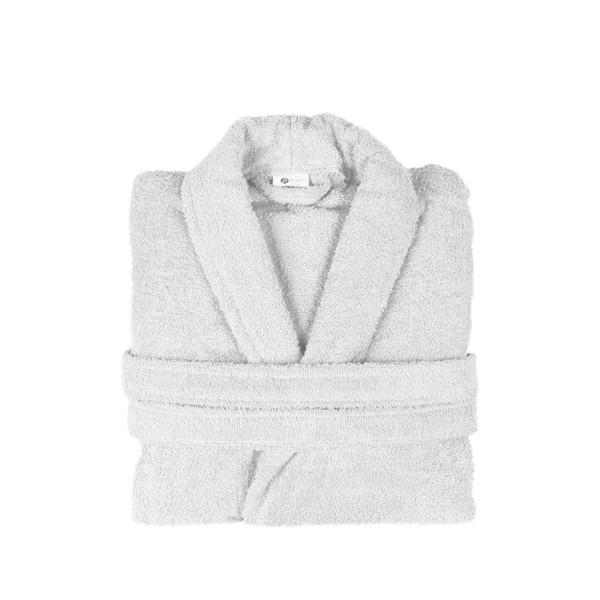 Μπουρνούζι Με Γιακά Fennel Comfort Λευκό