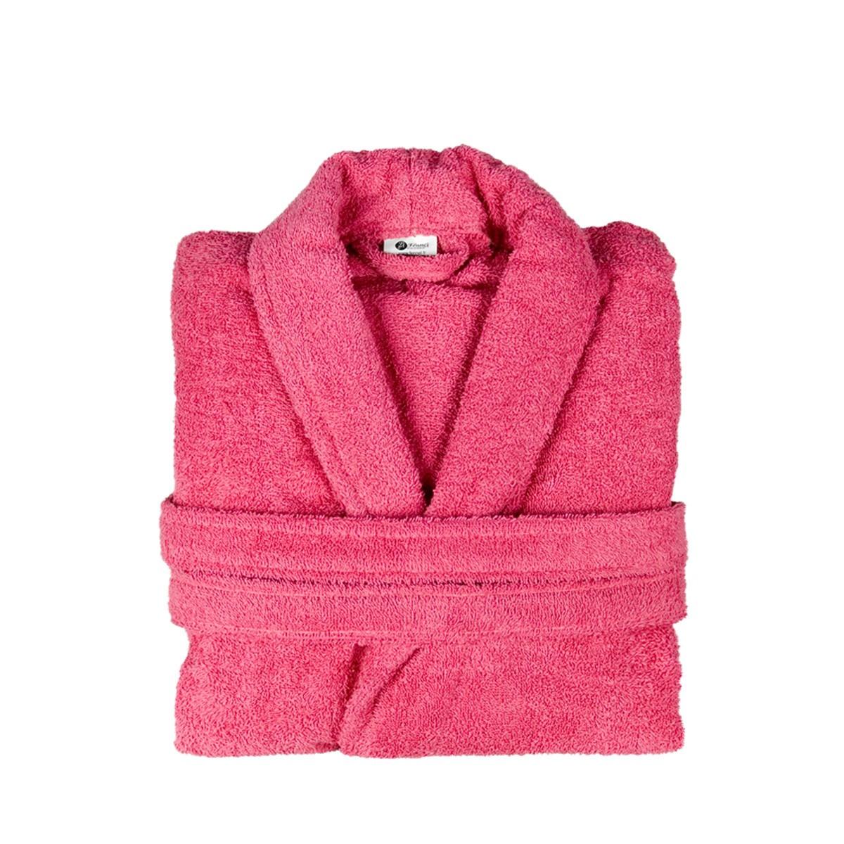 Μπουρνούζι Με Γιακά Fennel Comfort Φούξια SMALL SMALL