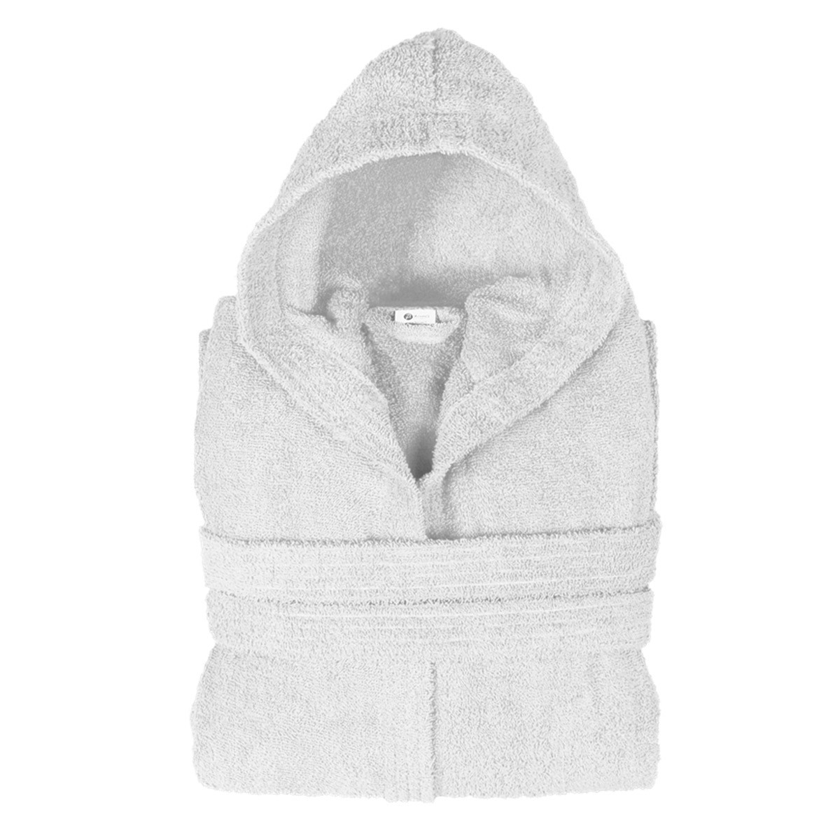 Μπουρνούζι Με Κουκούλα Fennel Comfort Λευκό SMALL SMALL