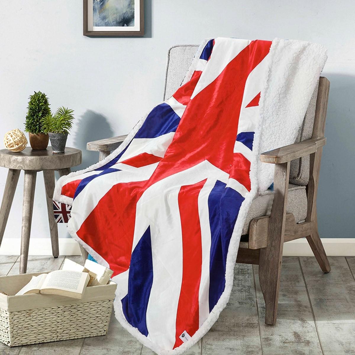 Κουβέρτα Καναπέ Fennel Flag BMS390-P005 85450