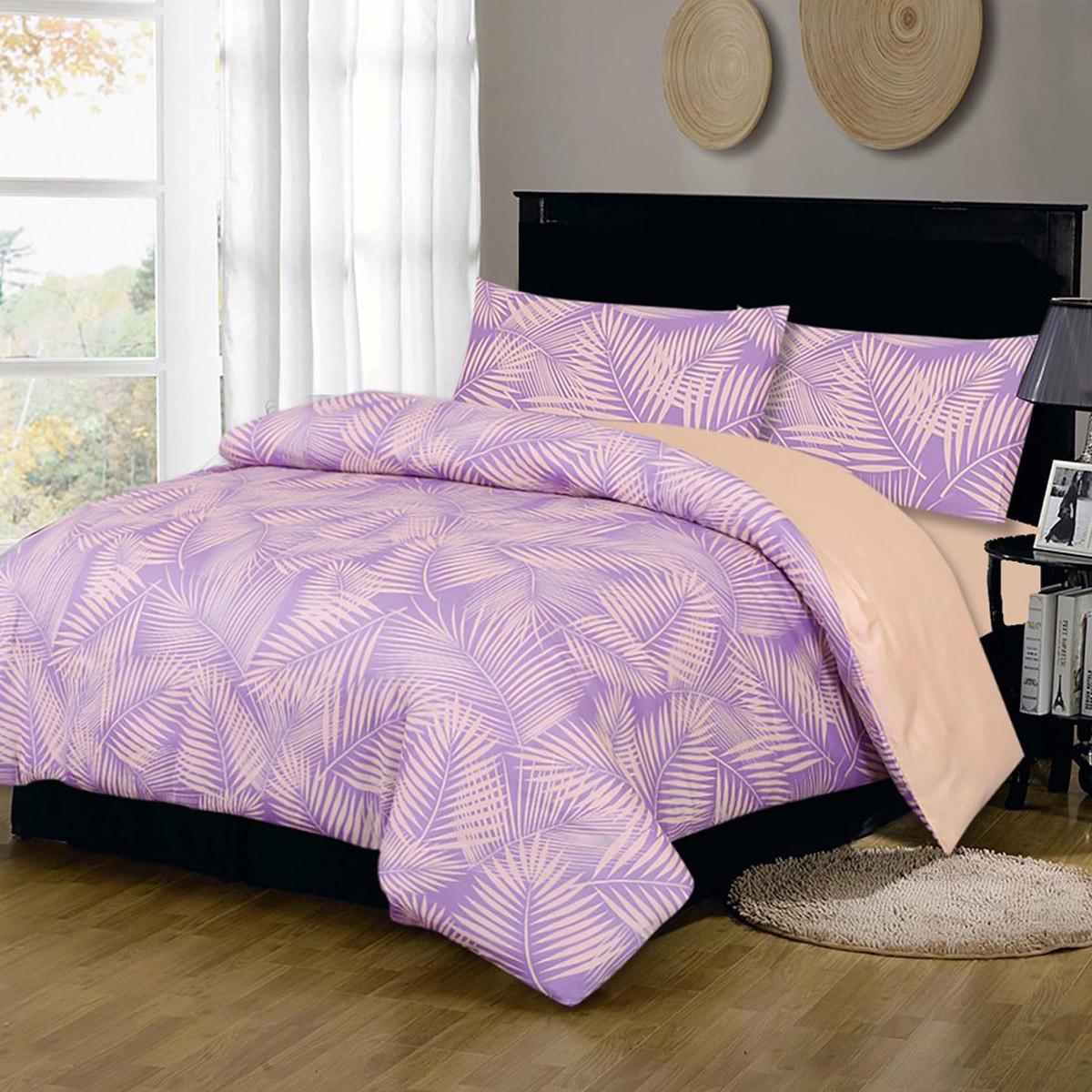 Σεντόνια Υπέρδιπλα (Σετ) Fennel P003B Lilac ΧΩΡΙΣ ΛΑΣΤΙΧΟ ΧΩΡΙΣ ΛΑΣΤΙΧΟ
