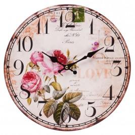 Ρολόι Τοίχου InArt 3-20-484-0327