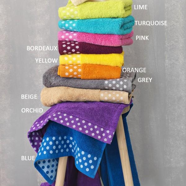 Πετσέτες Μπάνιου (Σετ 3τμχ) Palamaiki Towels Dots