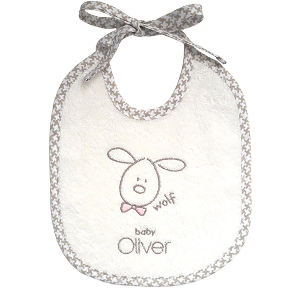Σαλιάρα Baby Oliver Mr.Wolf & Co 305