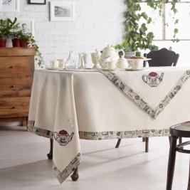 Τραπεζομάντηλο (135x135) Gofis Home Tea Pot 208