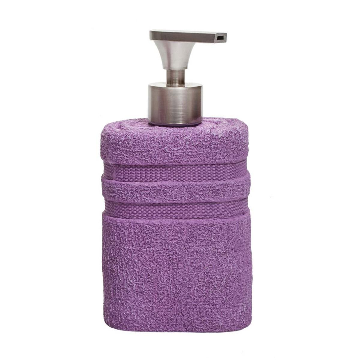 Δοχείο Κρεμοσάπουνου Marva Square Purple 478132
