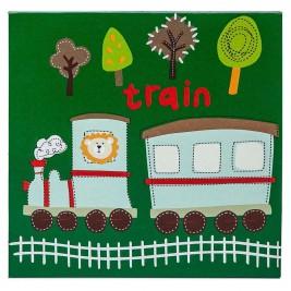 Κάδρο Φωτιζόμενο Marva Train 736023